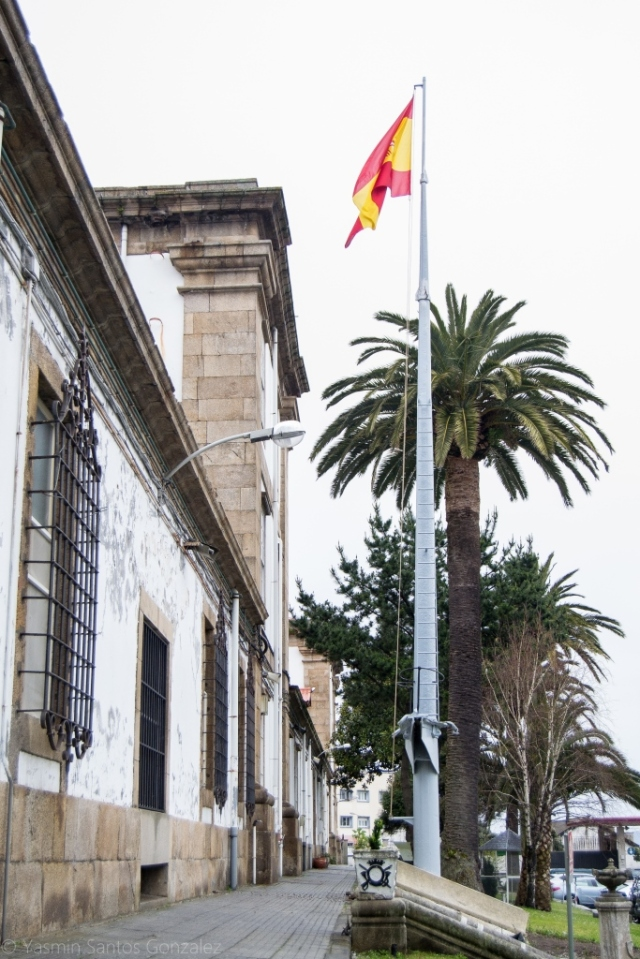 Su construcción comienza en julio de 1859, durante el desempeño en Capitanía General de Atanasio Alesón.