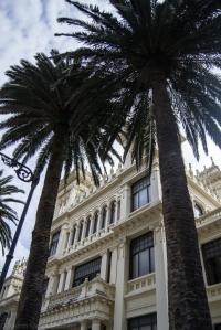 El edificio La Terraza, construido en 1919 sobre los planos del arquitecto Antonio de Mesa, es un volumen de estilo ecléctico que sustituía a una estructura previa realizada en madera.
