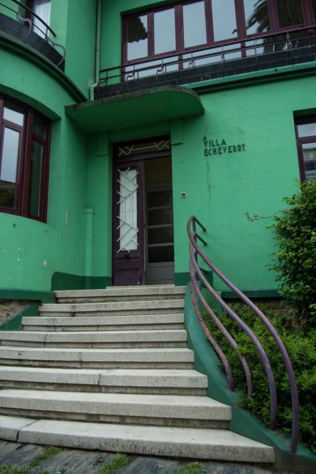 Data de la primera mitad del siglo XX, mandada realizar por el médico santiagués Ángel Jorge Echeverri como segunda vivienda y bautizada originalmente Villa Purita.