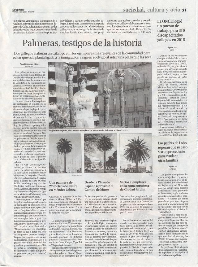 2016-08-05 La Opinión A Coruña