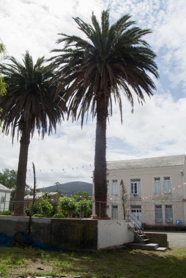 Conjunto formado por varios inmuebles independientes, incluyendo una villa que sirve de centro social, dos pabellones para las escuelas de niñas y niños, un patio, un escenario o baños.