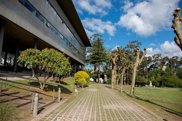 Las instalaciones se ubican sobre el antiguo lazareto, inaugurado en el año 1888. Actualmente y rodeados de un amplio parque se disponen la Batería de Oza, el Hospital de Oza, el Pabellón de Colonias y el Pabellón Quirúrgico Fernández Latorre, que componen un valioso conjunto.