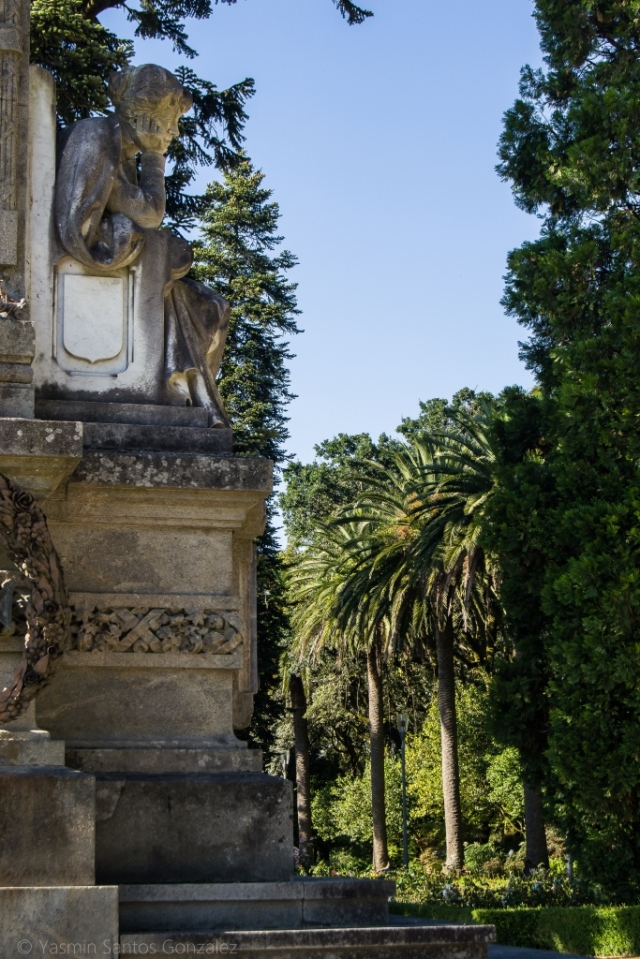 El origen del principal jardín de la capital de Galicia se remonta al siglo XVI, con la donación de los terrenos a la ciudad por parte del conde de Altamira.