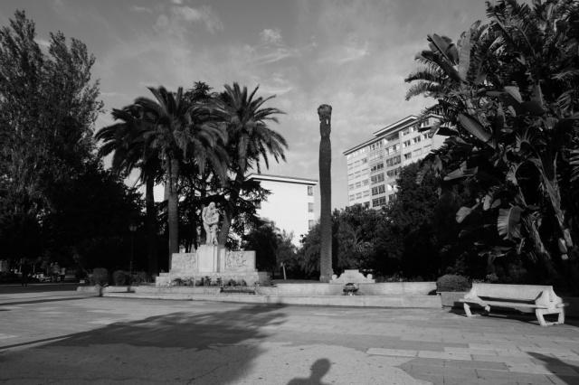 Esta obra escultórica de Camilo Nogueira, ubicada en la Plaza de América, fue inaugurada el 30 de julio de 1971.