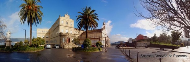 La historia de este espacio comienza en el año 1888, cuando el político Eugenio Montero Ríos construye la iglesia de los Placeres, donde actualmente reposan sus restos, y muy cerca de esta un pabellón de invitados para aquellos que visitaban el Pazo de Lourizán.