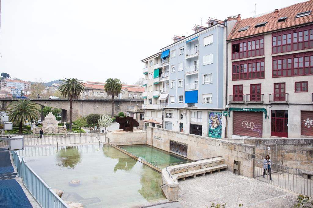 Núcleo neurálgico de la ciudad desde tiempos inmemoriales, las fuentes termales de As Burgas son un elemento simbólico de Ourense.